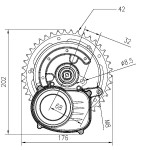 Dimensioni motore