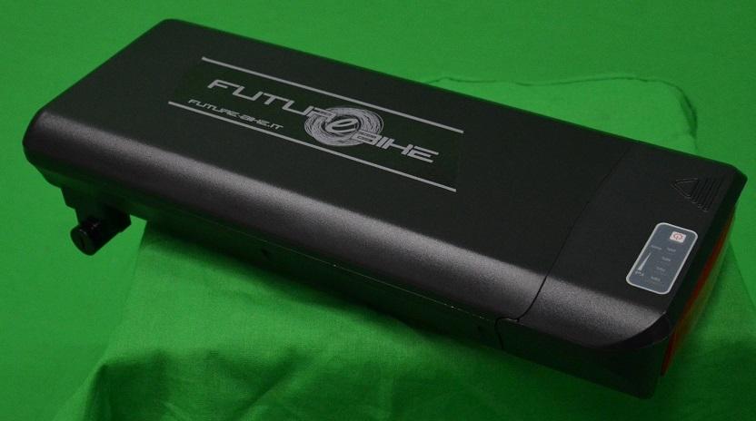 Batteria li-ion portapacchi