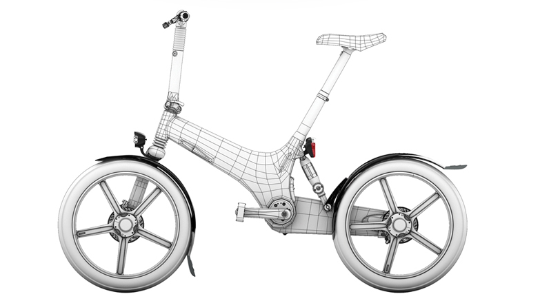 Gocycle g2 con portable e commuter pack