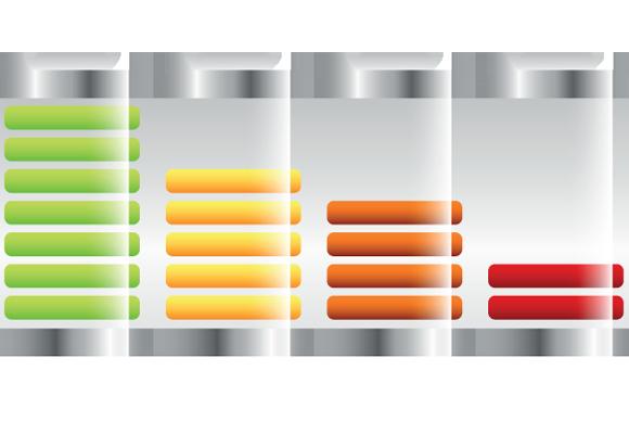 batterie carica